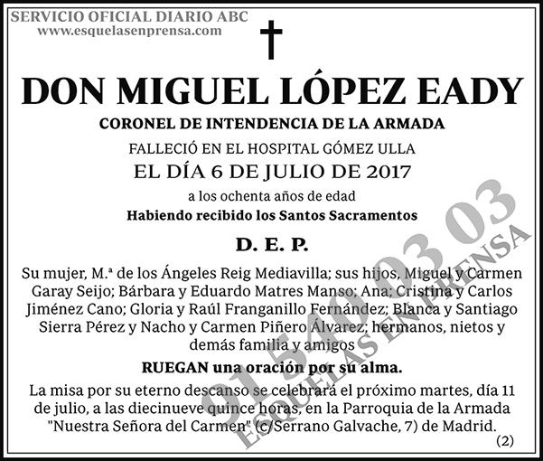 Miguel López Eady